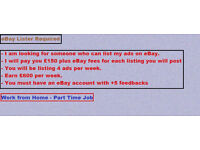 List Ads on e.B.a.y - Great Income weekly