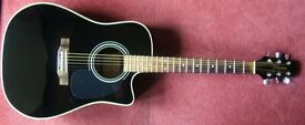 Vintage Takamine Electric Acoustic Guitar G Series EG531C Made in Korea