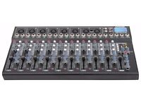 Citronic CM10-LIVE 10 Channel Compact Mixer with Delay and USB/SD Player
