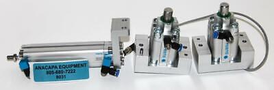 Festo Advu-12-90-a-p-a Sta-20-15-p-a Pneumatic Cylinders Lot Of 3 8031w