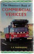 Observers Book of Commercial Vehicles
