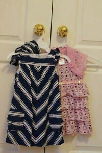 (2) 3T girls dress Tommy Hilfiger+Nannette 3