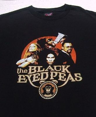 BLACK EYED PEAS u.s. tour LARGE concert T-SHIRT
