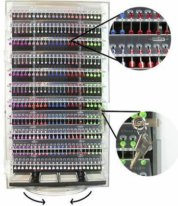 24 Double Sided Body Jewelry Display - Display Only