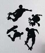 Skateboard Wall Stickers