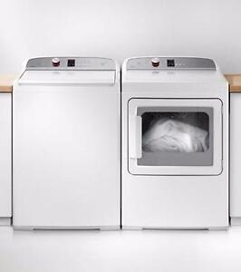 LIQUIDATION! Combo Laveuse-Sécheuse blanches 27, Fisher & Paykel