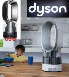 NEW DYSON AM10 COOL MIST HUMIDIFIER 303515-01 173121588 BLACK ULTRAVIOLET CLEANSE TECHNOLOGY UP TO 18 HRS