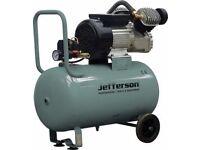 Jefferson 50L V-TWIN PUMP COMPRESSOR 230V