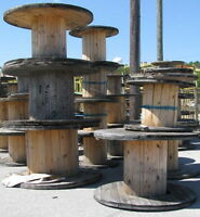 Wooden Cable Spools Any Size