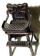 Vintage Metal High Chair