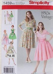e4de337436e 1950 S Style Dress Patterns