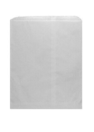 *Closeout Price - Limited Quantity* 12 x 15 White Kraft Merchandise Bag
