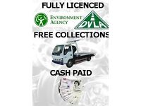 S c r a p cars wanted today cash paid