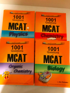 1001 Questions in MCAT & 101 Passages in MCAT