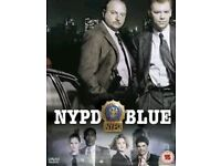 NYPD BLUE series 1 to 12 DVD series wanted cash waiting
