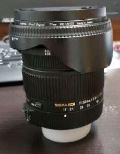 Sigma 17-50 f2.8 for Nikon cameras