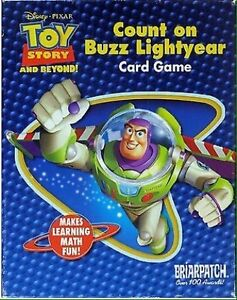 COUNT ON BUZZ LIGHT YEAR TRAVEL CARD GAME BY BRIARPUTCH,THOMAS