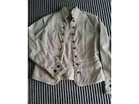 Ladies jacket,size 10