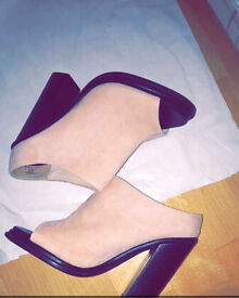 Pink/nude heels from faith
