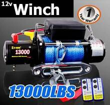 13000lbs 6.5 ton electric winch remote 12v truck dyneema rope 4x4 Craigie Joondalup Area Preview