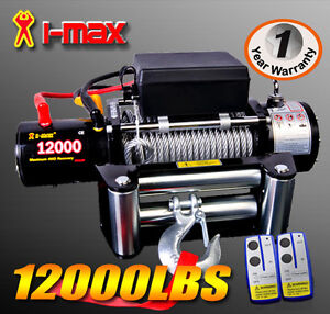 ★12V 12000lbs/5443kgs★  Wireless  Electric Winch 4WD