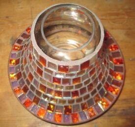 Yankee Candle Glass Mosaic Large Holder