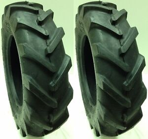 (2) TWO 6-12 ADVANCE 4 PLY LUG R1 NEW TIRE(S) 6 12 FARM TRACTOR - BEAT CARLISLE