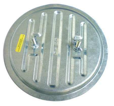 DUCTMATE GRDCI12GA Duct Cleaner Access Door,13 In.,Round
