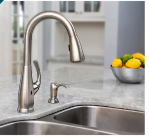 Pfister Selia Touch-Free Pull-Down Kitchen Faucet With React