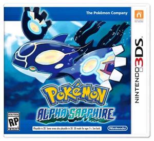 POKEMON ALPHA SAPHIRE 3DS