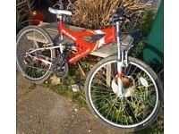Mountain Bike 26 inch wheels , 19 inch frame £40