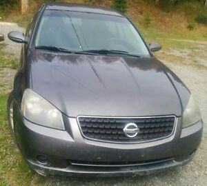 *REDUCED PRICE*2006 Nissan Altima 2.5 S Sedan AS IS. $500.00 obo