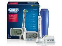 USED Oral-B Triumph 5000 Electric Toothbrush with Wireless Smart Guide
