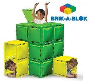 NEW BRIK-A-BLOK 30 PANEL BUILDING Baby, Kids  Toys Toys Building Blocks  Sets 109160401