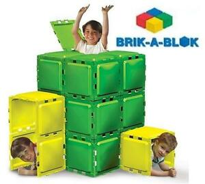NEW BRIK-A-BLOK 30 PANEL BUILDING Baby, Kids  Toys Toys Building Blocks  Sets 109160401