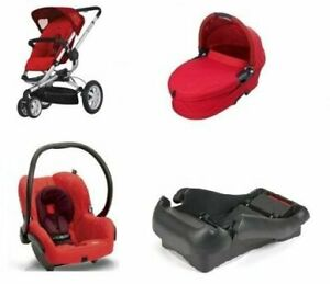 Quinny Buzz 3 Stroller with bassinet+ car seat.3in1.Full set....
