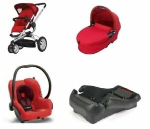 Quinny Buzz 3 Stroller with bassinet+ car seat.3in1. Full set...