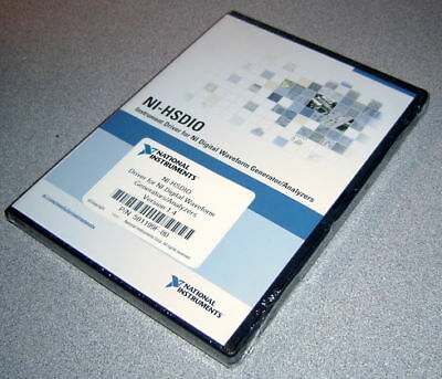 National Instruments Ni-hsdio Driver Version 1.4 New