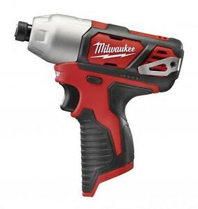 Brand new - Milwaukee M12 1/4 in. Hex Impact Driver 2462-20