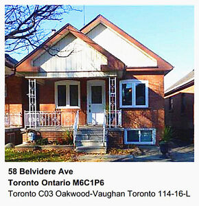 5 Bedroom Detached House near Toronto Downtown for Rent