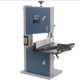 """SEALEY SM1303 PROFESSIONAL BANDSAW 200MM 8"""" WOOD PLASTIC TILTING TABLE"""