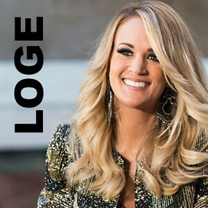 2-4 LOGE Carrie Underwood Tickets Oct. 13th - Rogers Place