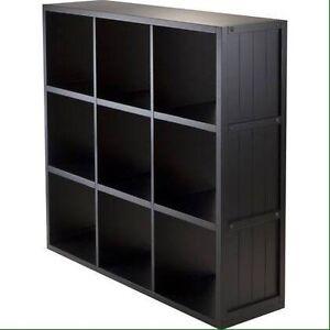 Cube book shelf (9 cubes) ISO