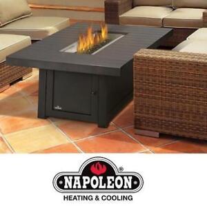 NEW NAPOLEON PATIO FLAME TABLE GPFTR3656-BZ 177641537 OUTDOOR ST. TROPEZ RECTANGLE