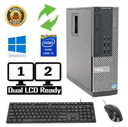 Dell Optiplex Desktop PC 7010 Windows 7/10 Intel i5 Quad Core 4GB, 8GB, 16GB