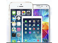iPhone screen repair 4 4s 5 5s 5c 6 6plus 7 7plus ipads with free screen protector