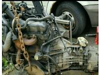 Transit 2.5 DI engine and gearbox mk4 mk5 working