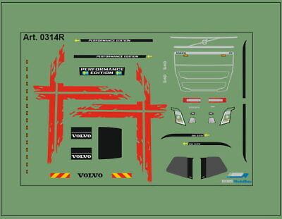 H0/1:87 DIS0314R Decals• für Volvo FH4 /Performence Edition/rot online kaufen