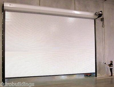 Durosteel Janus 18w X14h Commercial 2500 Series Heavy Duty Rollup Door Direct