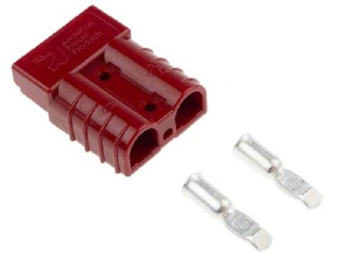 4x Anderson SB SERIES PREASSEMBLED CONNECTOR KITS 50A 2-Way RED *USA Brand